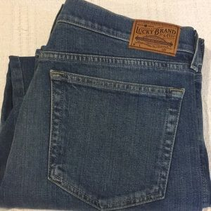 Never Worn Lucky Brand  Straight Crop Jeans